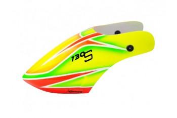 Airbrush Fiberglass Herior Cor Canopy - BLADE 130S