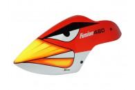 Airbrush Fiberglass Angry Bird Canopy -BLADEFUSION480