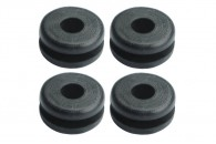 Rubber Canopy Mounting Grommets Hole 2.5mm - BLADE 200 / 300 / 450