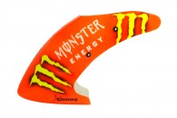 Airbrush Fiberglass Orange Monster Energy Canopy - BLADE MCPX