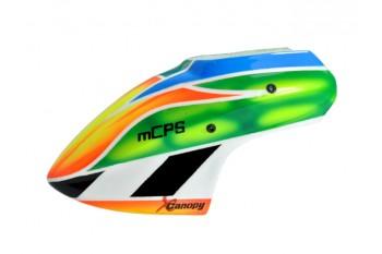 XCanopy Airbrush Fiberglass Goperes Canopy - BLADE MCPS