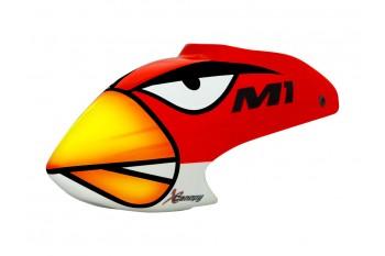Airbrush Fiberglass Angry Bird Canopy -OMP HOPPY M1