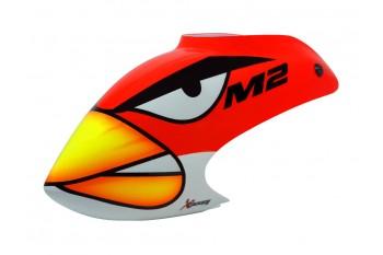 Airbrush Fiberglass Angry Bird Canopy -OMP HOPPY M2
