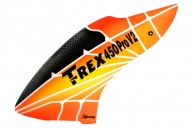Airbrush Fiberglass Sunrise Light Canopy - TREX 450 PRO V2