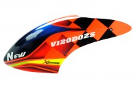 Airbrush Fiberglass New Style Canopy - WALKERA V120D02S