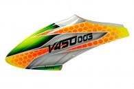 Airbrush Fiberglass V-PRO Canopy - WALKERA V450D03