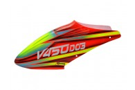 Airbrush Fiberglass Red Devil Canopy - WALKERA V450D03