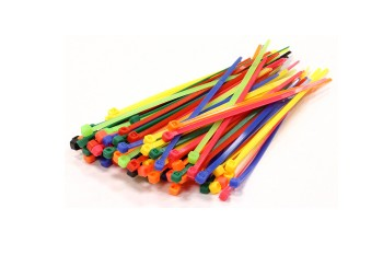 Plastic Zip Ties 200x2.5mm 30pcs (Mix Color)