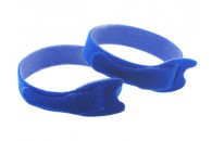 Double Sided Velcro Strap 200x12mm - BLUE