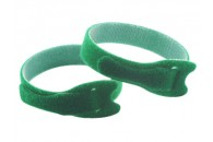 Double Sided Velcro Strap 200x12mm - GREEN